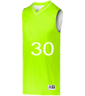 30 - Custom Heat Pressed Adult Basketball Jersey - 152 50821DEABD2C