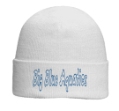 Big Blue Aquatics - Custom Screen Printed Otto Beanie 82-480 553EBF9E27E1