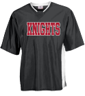 KNIGHTS marble Adult Colorblock Raglan Shooting T Shirt