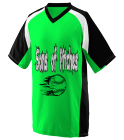Sons of Pitches - Custom Screen Printed Adult Nitro Baseball Jersey  - 1535 C21413E89642
