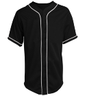 m - Custom Heat Pressed Teamwork Athletic Full Button Baseball Jersey - 1860B B58A0252FACC