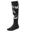 White Fang! - Custom Screen Printed Youth Athletic Sock - 5613 013444C215BC