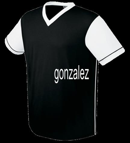 competitive price 2e5b1 8ecb3 GONZALEZ - Custom Heat Pressed Youth Arsenal Soccer Jersey - 22751