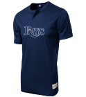 Player-Name00 Custom Tampa Bay Rays Two-Button Jersey - Tampa Bay Rays-MAI383