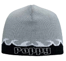 "Poppy - Custom Heat Pressed 8"" Beanie Otto Cap 91-628 5823088BF080"