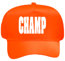 CHAMP - Custom Heat Pressed Neon Low Crown Golf Style Hat Otto Cap 52-127 624BC39D5117