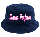 tequila porfavor - Custom Heat Pressed Short Brim Custom Bucket Hats - 961 AA8DB375B170