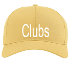 Clubs-Since 2019 - Custom Screen Printed Cotton Snapback Two Color Hat - 212 C46B31A2C813