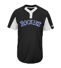 Nolan Youth Rockies Two-Button Jersey - Rockies-MAIY83