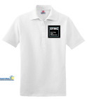SYHC - Custom Embroidered Ladies Pique Hanes Polo 6432FB449FF6