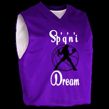 c04554b36d66 Sp q n i-Dream-14-14-14 - Custom Heat Pressed Womens Fadeaway Reversible Basketball  Jersey - 1481 S 034EB80DB485A