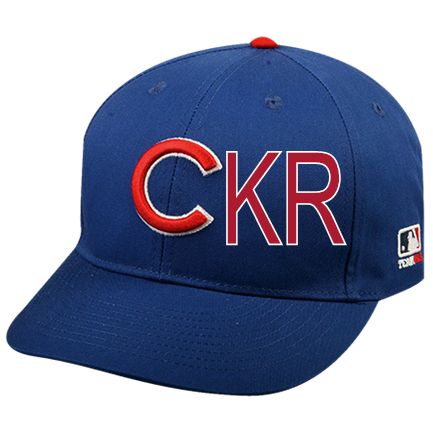 KR - Custom Heat Pressed Chicago Cubs- Official MLB Hat for Little Kids  Leagues A27BB9899F6B a40c4ac70a1