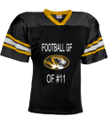 FOOTBALL GF-OF #11-Michael-11 - Custom Heat Pressed YouthTeam Football Jersey - Teamwork Athletic -1314 330451018106