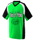 Sons of Pitches - Custom Heat Pressed Adult Nitro Baseball Jersey  - 1535 9CE2E278ABF5