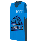 BEED-ICA7 Ladies Two Color Sleeveless Jersey