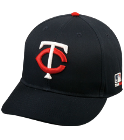 6 - Custom Heat Pressed Minnesota Twins - Official MLB Hat for Little Kids Leagues 8C16B88DF423