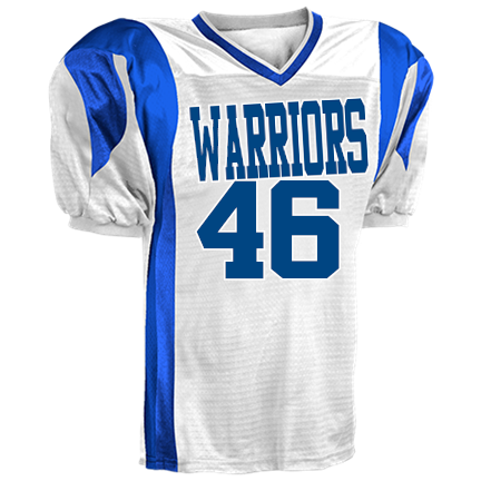 super popular 5f31c 637b4 WARRIORS-46-J. JONES-46 - Custom Screen Printed Youth Twister Steelmesh  Football Jersey -Teamwork Athletic- 1361 Youth Small