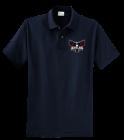 irwin-polo-navy DISCONTINUED Company Shirts, Uniforms, Polos with logo - KP60