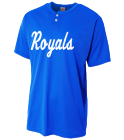 Royals-1.2 - Custom Heat Pressed Youth Baseball Jersey - NB4130 E1EA4B733842