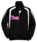 Thea-MISFITS-1 - Custom Heat Pressed Youth Customized Colorblock Raglan Jacket  - YST60 6683CB172668