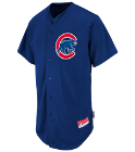 Nazzo-23 - Custom Heat Pressed Cubs Full Button Baseball Jersey - Adult BC51A1E7E44F