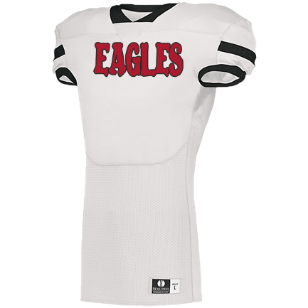 quality design 9b9bf dad86 EAGLES - Custom Embroidered Holloway Veer 1.0 Football Jersey - 226023