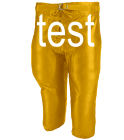 test Youth Football Pant  - 640BSL