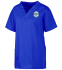 Cryotherapy - Custom Embroidered Custom V-Neck Scrubs Tunic - 221C 6601457D94E3