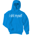 i-shit-myself SaveTheAnimalsSaveTheAnimals Youth Pullover Hooded Sweatshirt