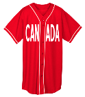 CANADA - Custom Heat Pressed Adult Full Button Wicking Mesh Jersey  - 593 A9343D4FF3B6
