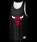 Bulls- Sportek Adult Reversible Basketball Jersey