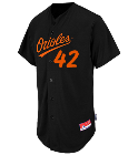 THGTTG - Custom Heat Pressed Orioles Full Button Baseball Jersey - Adult 15F1E2FA4727