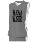 Baichay-Warriors Its a nabor thingDonk00 Women's 2-Color Reversible Basketball Jersey