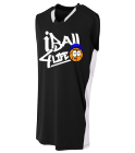 RON - Custom Heat Pressed Adult Backcourt Jersey - N2377 8E48D56206DA
