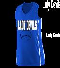 Lady-DevilsANDERSON10 Girls Racerback V-Neck Jersey
