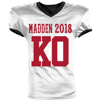 MADDEN 2018-KO - Custom Heat Pressed Reversible Football Jersey Adult -1357  S 074941E0C104A 86abf2909