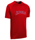 TANYA LITTLE LEAGUE - Custom Screen Printed Youth Angels MLB Replica T-Shirt - 5301 5DBB8EAB72A0
