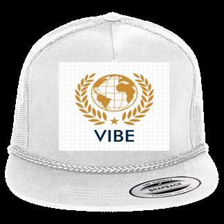Vibe - Custom Heat Pressed Classic Poplin Golf Mesh Trucker Hat - 6003  A18123D47666 35d5792f5517