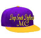 Deep South drifters-Support 77-Support 77-MC - Custom Screen Printed Snapback Flat Bill Hat - 125-978 67CB5DFA0CF9