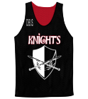 D.B.I.S.-D.B.I.S-KNIGHTS-D.B.I.S. - Custom Screen Printed Adult Reversible Basketball Jerseys - NF1270 632CA2221A37