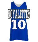 Royalettes  - Custom Heat Pressed Women's Reversible Jersey -Teamwork Athletic-1442 9EC4A1B95CA5