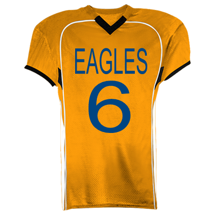 d56b48e0f55 EAGLES-6-6-EAGLES-6-6 - Custom Heat Pressed Youth Tackle Football Jerseys -  1303 0BFD81CEAC80