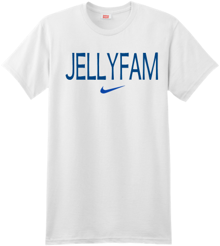 Jelly Fam Jellyfam You Jelly Custom Screen Printed