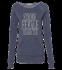 Strong-Female-CharacterFemaleCharacter Galway Girl Ladies Off The Shoulder Alternative Sweatshirt