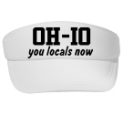 OH-IO-you locals now - Custom Heat Pressed Sun Visors Otto Cap 60-166 1054567CF2F4