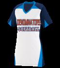 denominators panthers softball Girls V-Neck Three Toned Softball Jersey