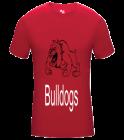 BulldogsTYAA Adult Compression Crew Tshirt