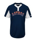 ASTROS-YOUTH Youth Astros Two-Button Jersey - Astros-MAIY83