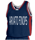 ARVATO FINOPS - Custom Heat Pressed Youth Basketball Jersey - Jammer Series - Teamwork Athletic - 1483 16593E5D0086