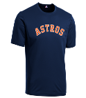 Wright-Wandersleben  - Custom Heat Pressed Astros Youth Wicking MLB Replica Jersey - M1261 56985CA162D7